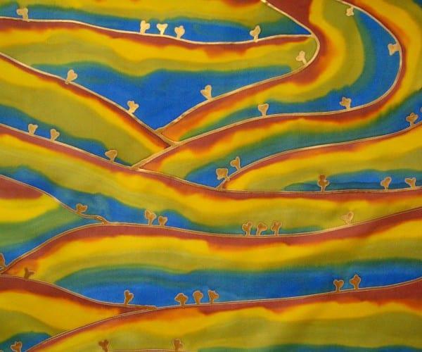 Fields of Energy II by Odra Noel