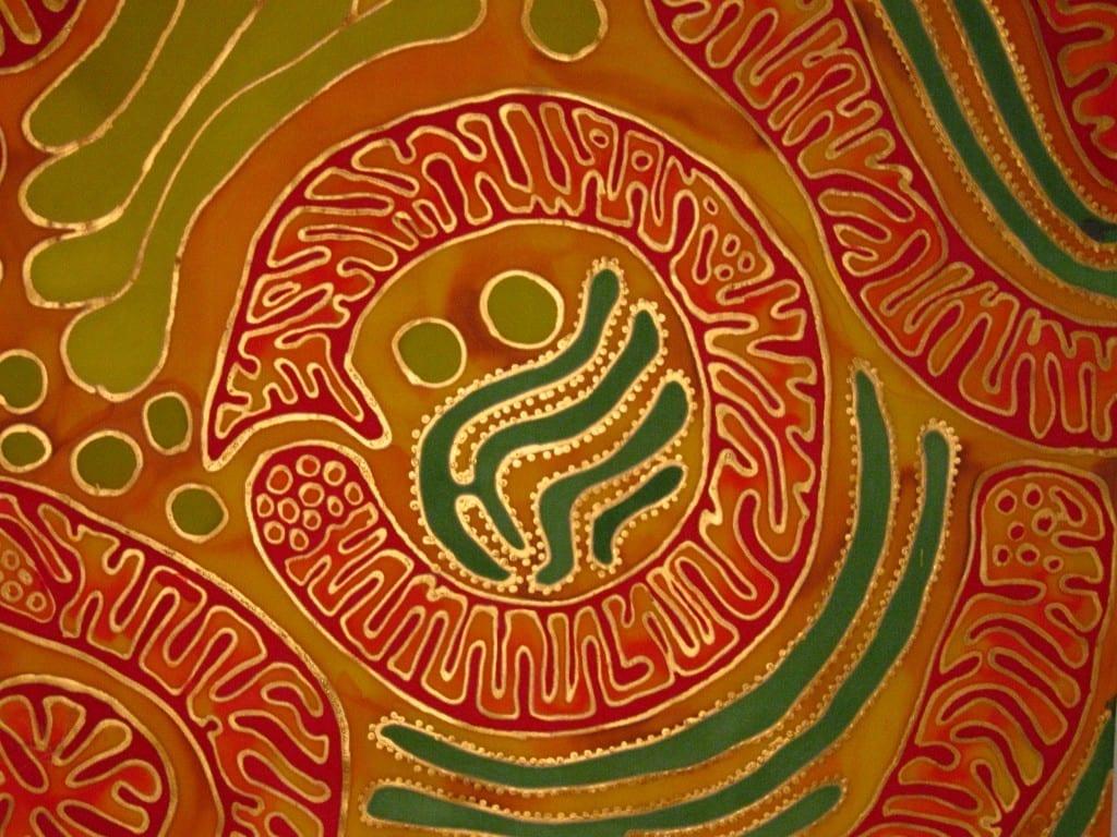 Mitochondrial Oroboros by Odra Noel